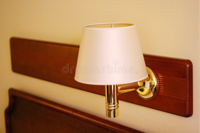 Lampada della Hotel-Stanza fotografie stock