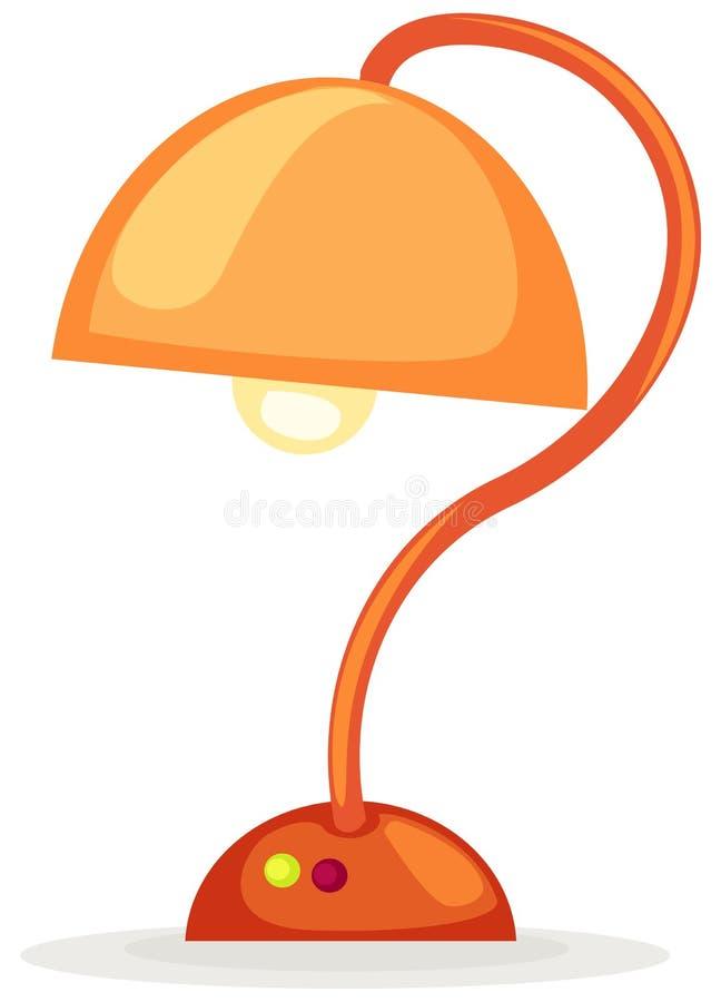 Lampada della Tabella illustrazione di stock