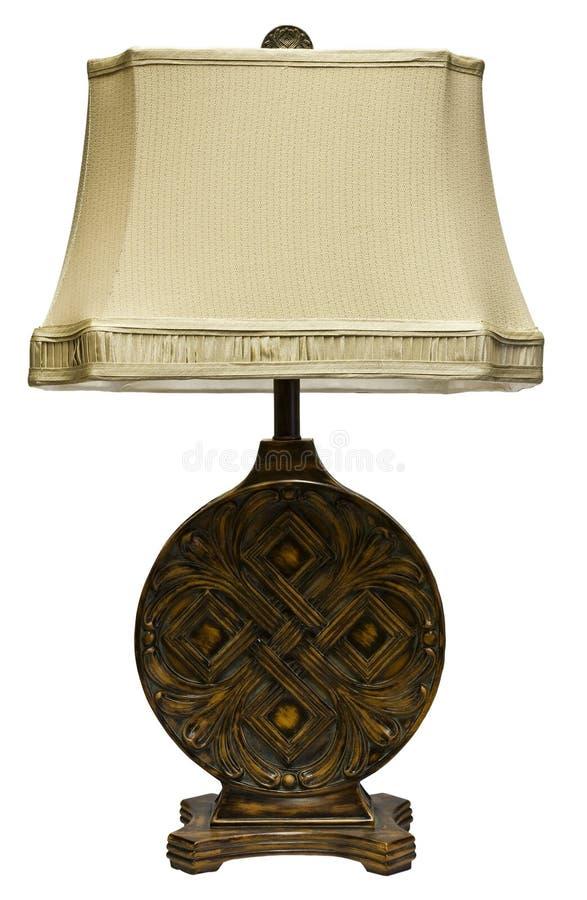 Lampada della Tabella con schermo fotografie stock libere da diritti
