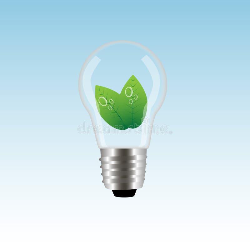 Lampada di ecologia immagine stock