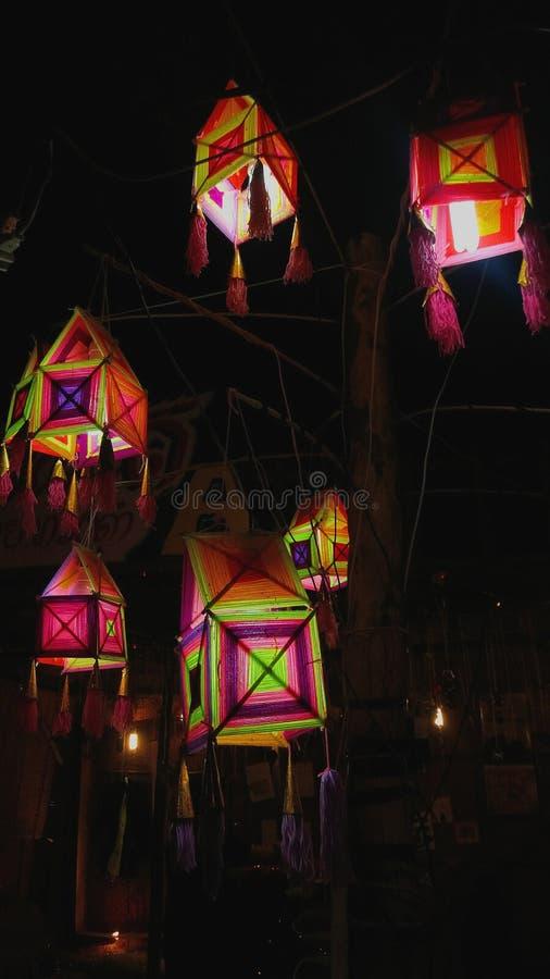 Lampada di festival fotografia stock