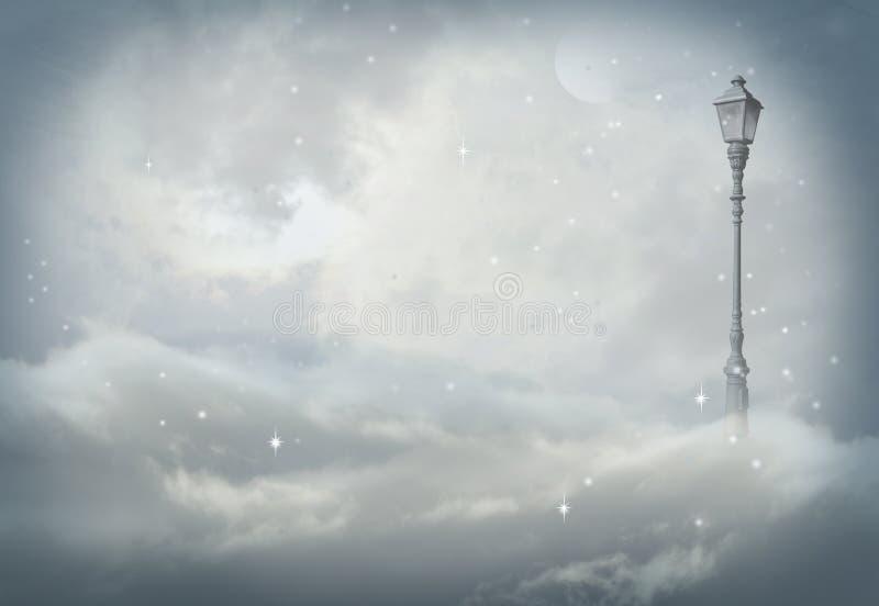 Lampada di Narnia royalty illustrazione gratis