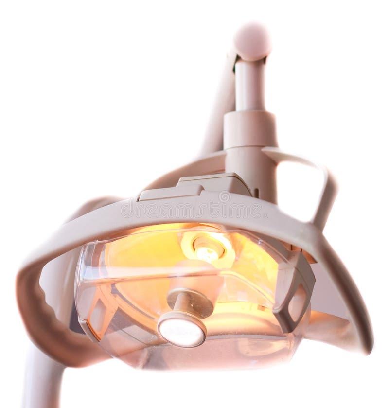 Lampada di odontoiatria fotografia stock libera da diritti