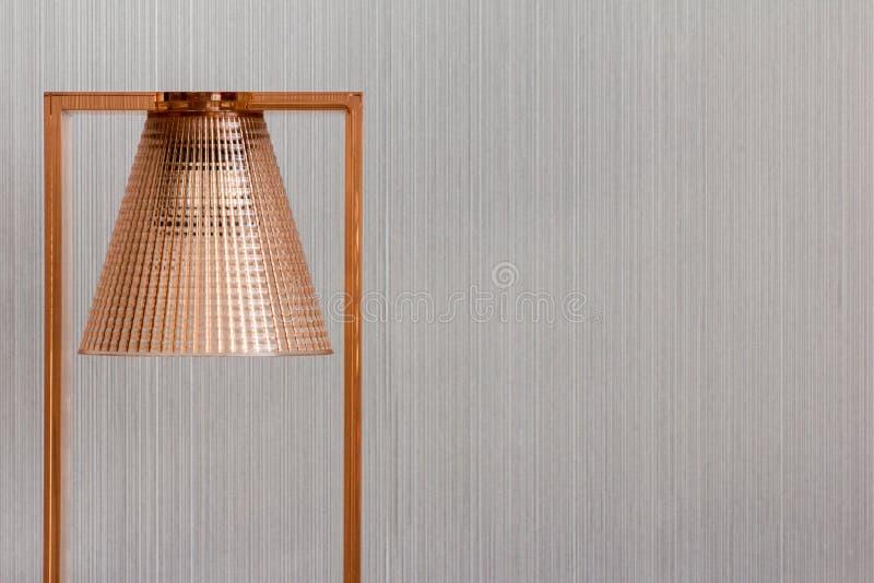 Lampada di rame moderna e di lusso fotografie stock