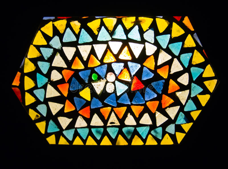 Lampada di Stainglass immagini stock libere da diritti
