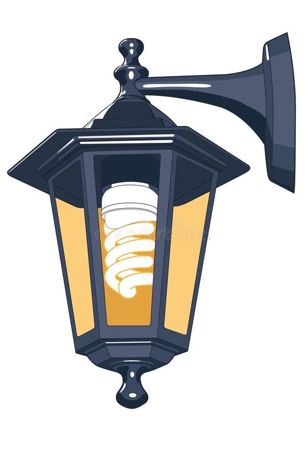 Lampada di via illustrazione vettoriale