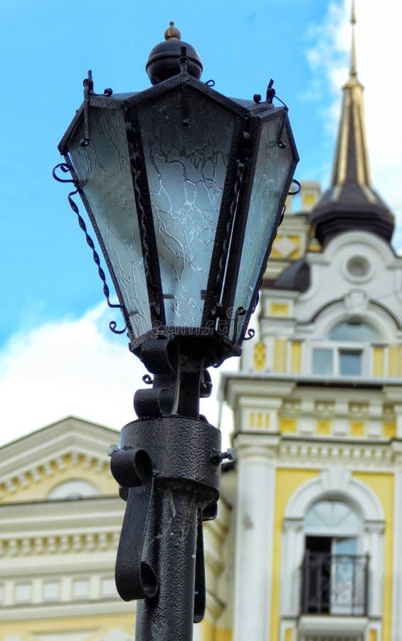 Lampada di via a Kiev immagine stock