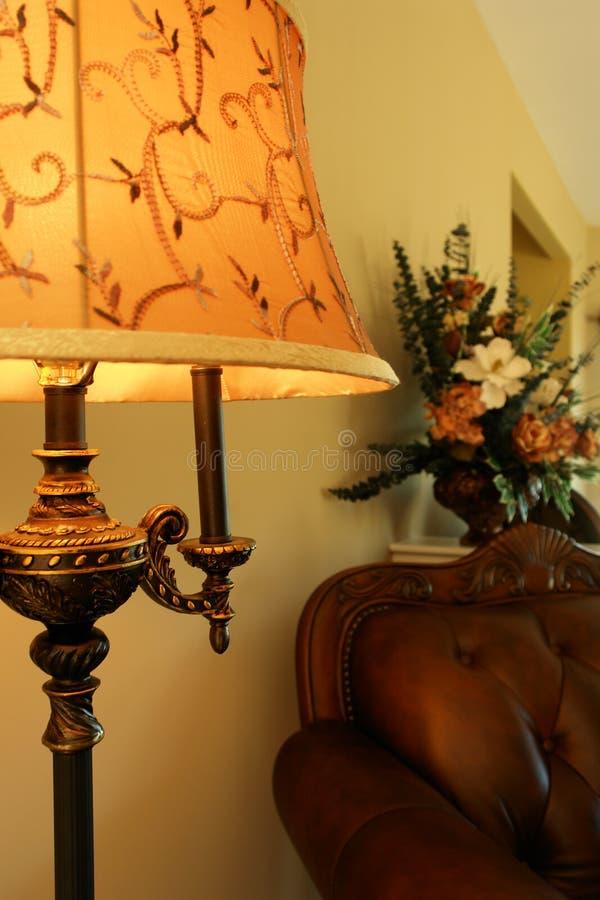 Lampada domestica di lusso immagine stock