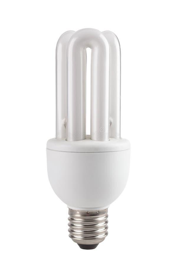 Lampada fluorescente del compatto di tecnologia economizzatrice d'energia immagine stock libera da diritti