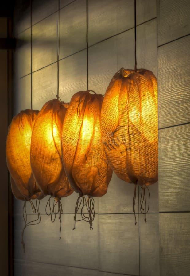Lampada moderna di illuminazione fotografia stock
