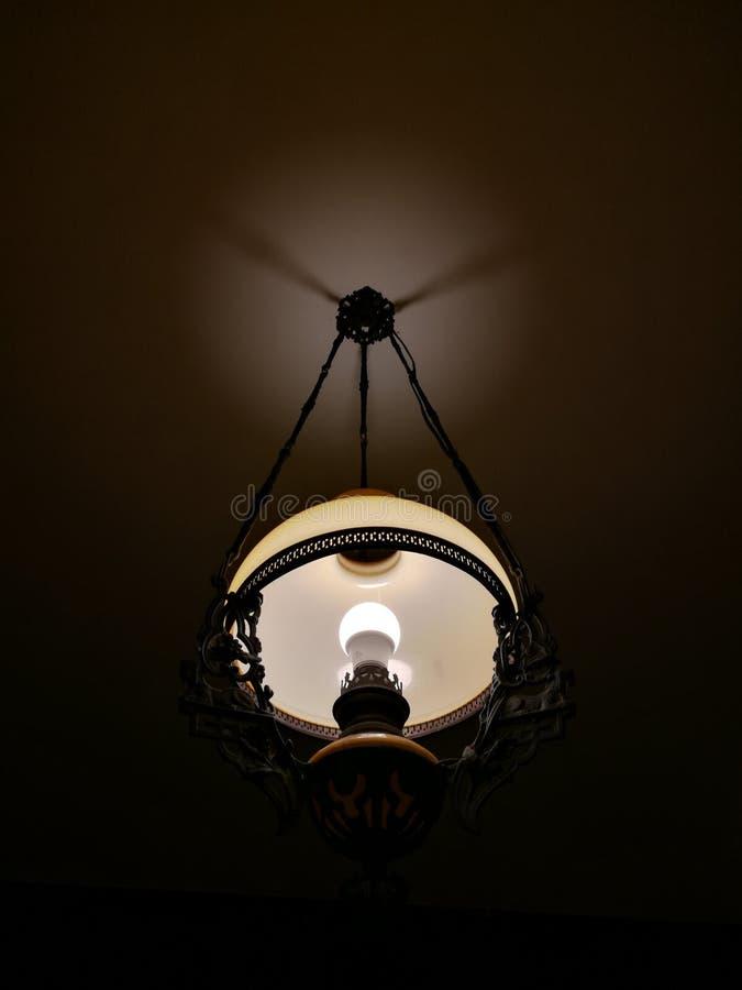 Lampada per la decorazione in locali per uso notturno fotografie stock libere da diritti