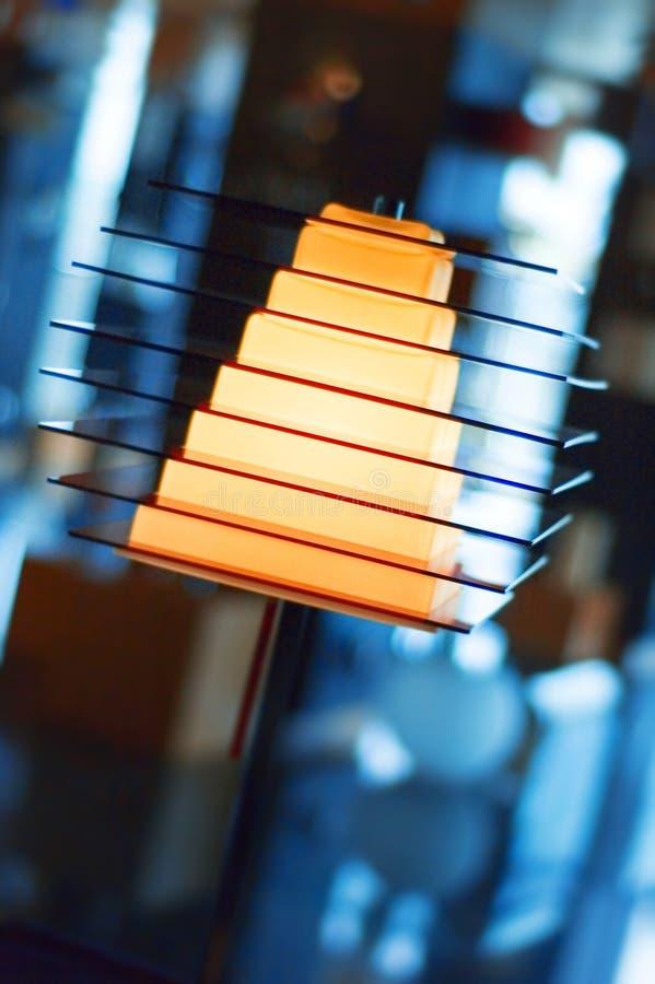 lampada Piramide-a forma di fotografie stock libere da diritti