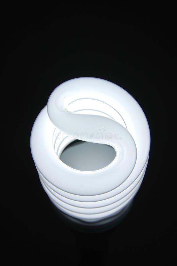 Lampada a spirale fotografia stock