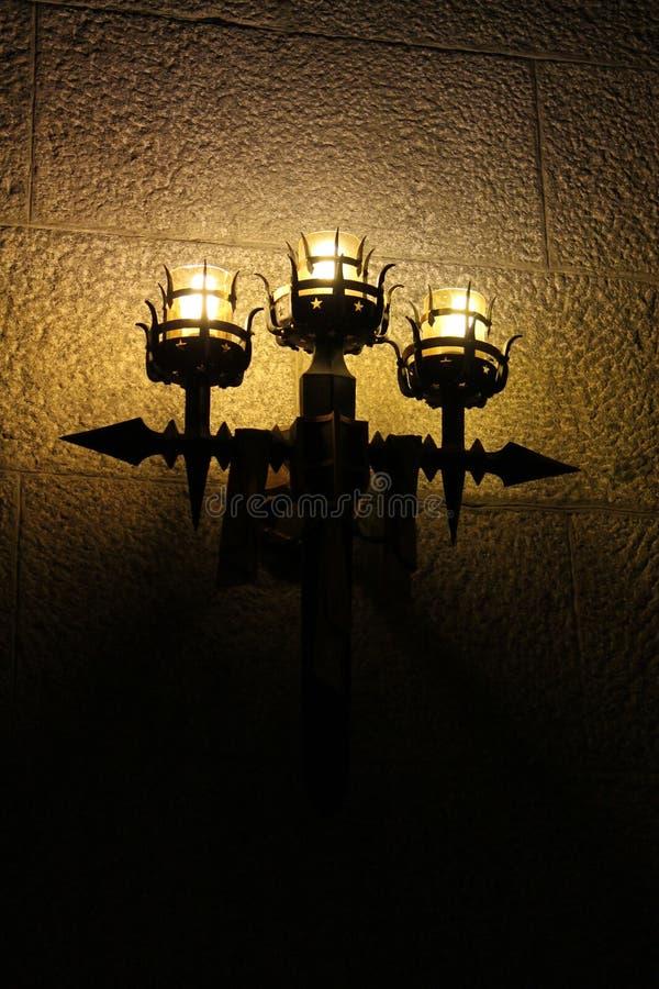 Lampadari 2 della parete fotografia stock