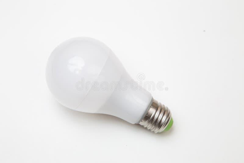 Lampade del LED isolate su bianco immagine stock libera da diritti