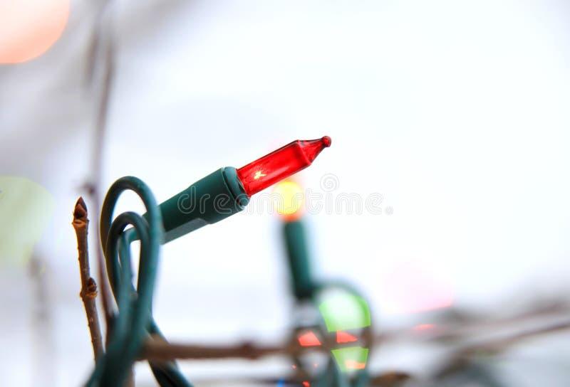 Lampade di Natale immagini stock