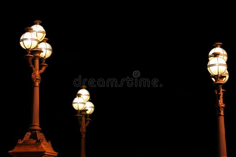 Lampade di via fotografia stock libera da diritti