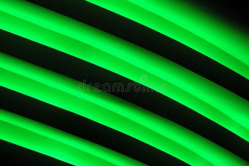 Lampade luminose del tubo fotografia stock libera da diritti