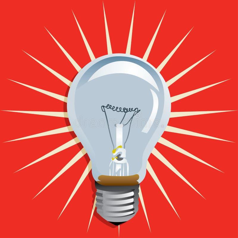 LAMPADINA royalty illustrazione gratis