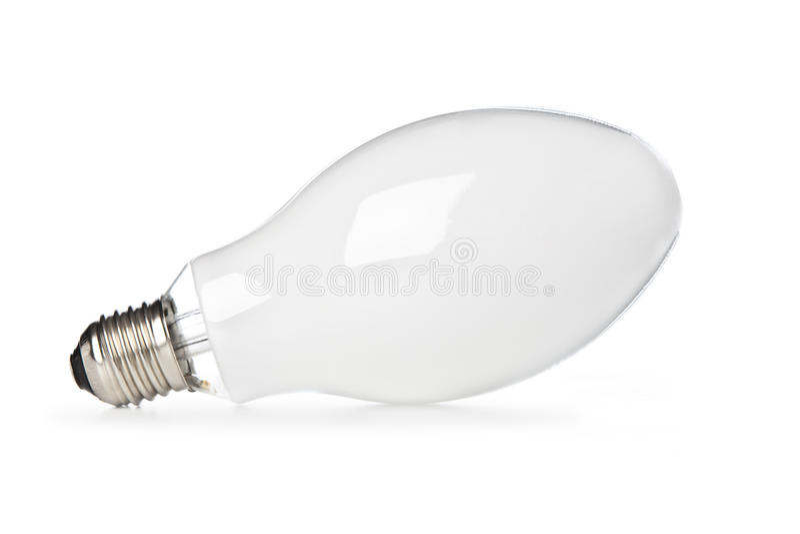 Lampadina bianca fotografie stock libere da diritti