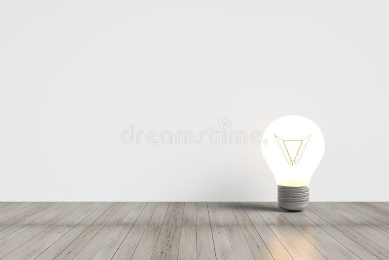 Lampadina brillante immagini stock