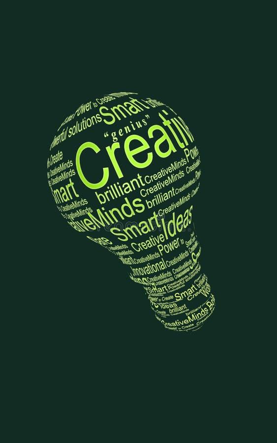 Lampadina creativa 2 illustrazione di stock