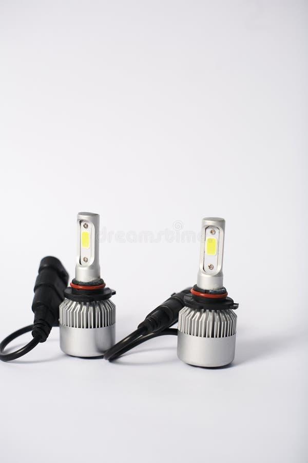 Lampadina del faro del LED immagine stock libera da diritti