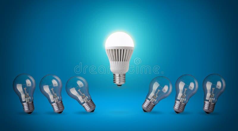 Lampadina del LED. fotografia stock libera da diritti