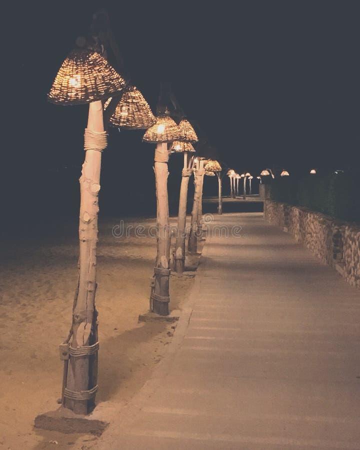 Lampadina della spiaggia fotografie stock