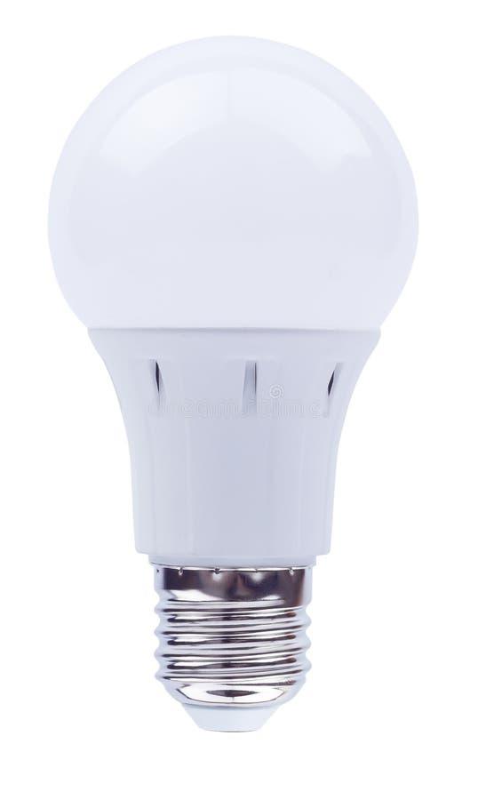 Lampadina economizzatrice d'energia sulla a immagini stock libere da diritti
