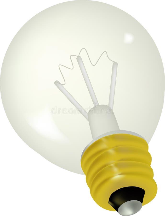 Lampadina elettrica illustrazione vettoriale