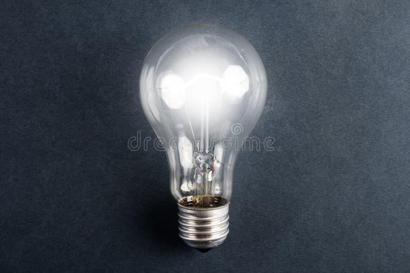 lampadina elettrica lucidata. immagini stock libere da diritti