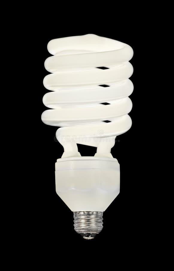 Lampadina fluorescente fotografia stock