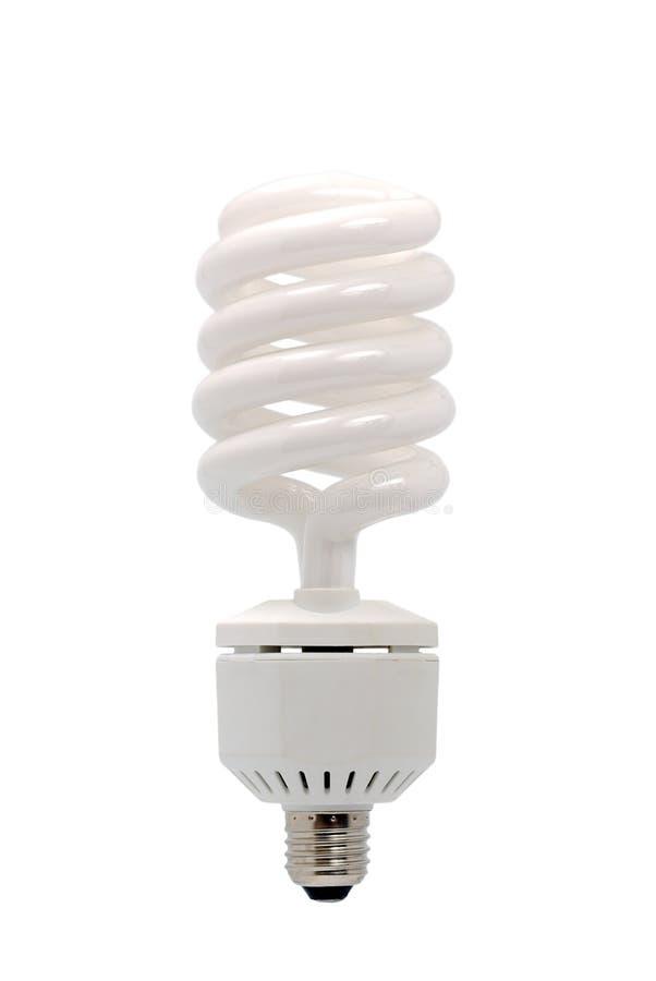 Lampadina fluorescente economizzatrice d'energia fotografia stock libera da diritti