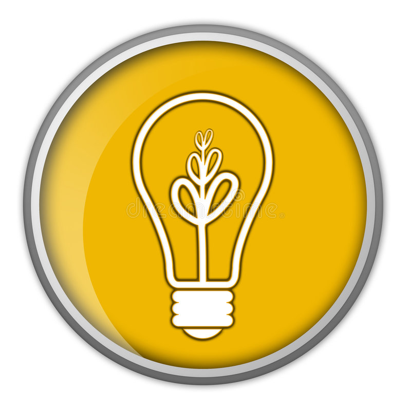 Lampadina, idea, commercio, informazioni illustrazione vettoriale