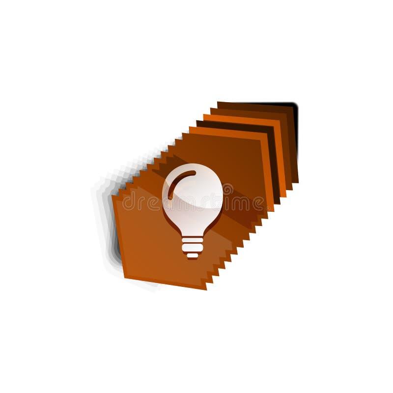 Lampadina, nuovo bottone di web di concetto di idea royalty illustrazione gratis
