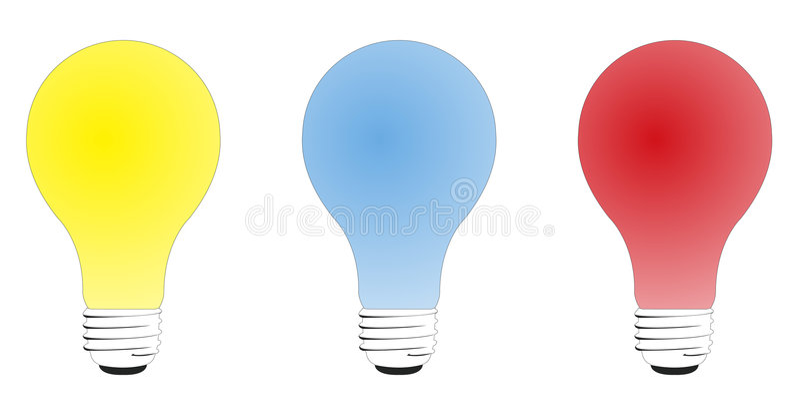 Lampadine illustrazione vettoriale