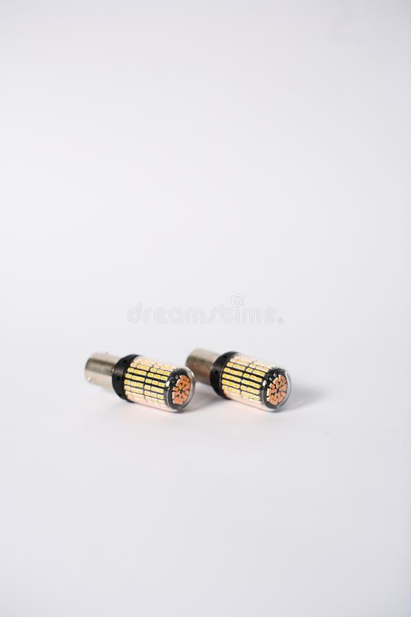 Lampadine del segnale del LED fotografia stock