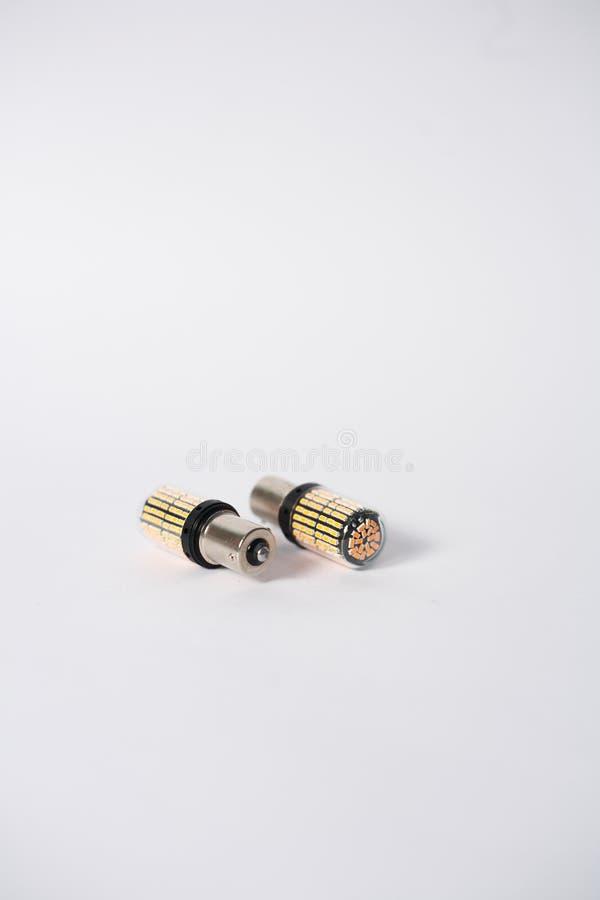 Lampadine del segnale del LED immagine stock libera da diritti