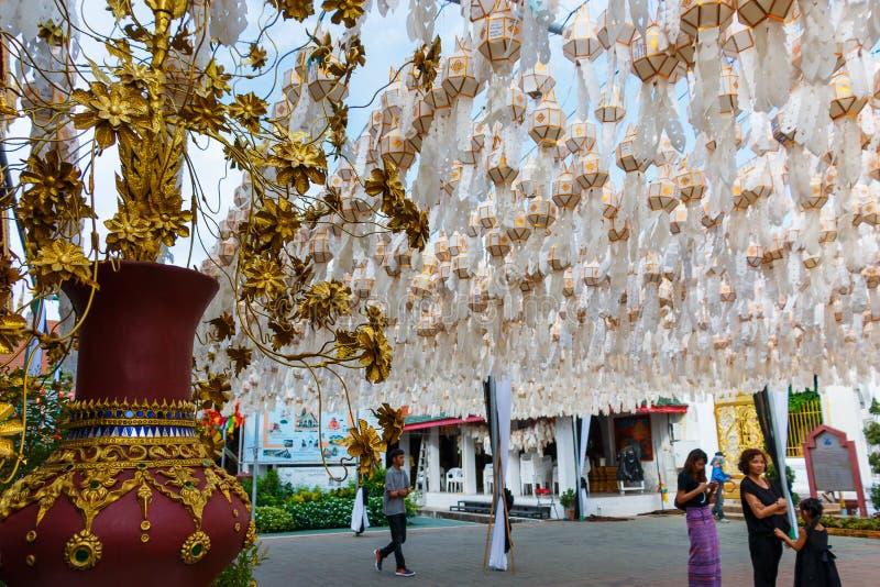 Lampang, ` Tailândia de Wat Phra That Hari Phun Chai do ` do templo de Tailândia foto de stock royalty free