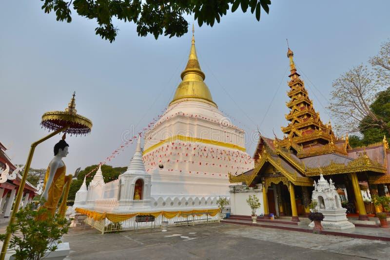 Lampang, Thailand. Wat Phra Kaew Don Tao in Lampang, Thailand royalty free stock image