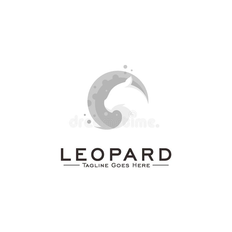 lamparta logo projekta pojęcie ilustracji