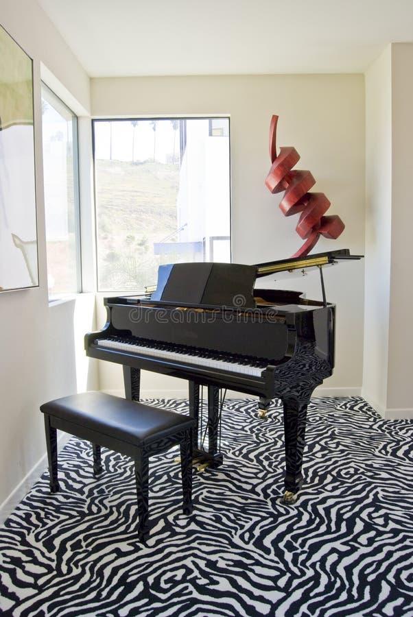 lamparta uroczysty pianino fotografia royalty free