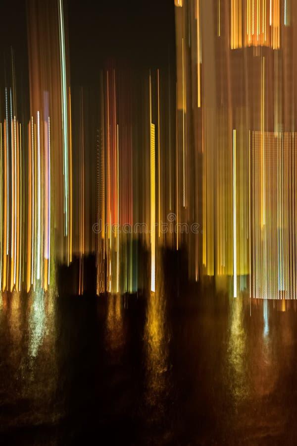 Lampasy i promienie światła tło obraz stock