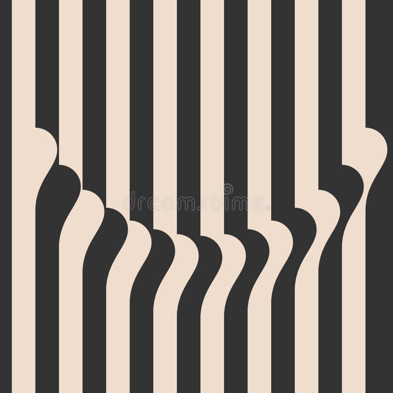 lampasy machający Rocznika stylowy tło Okładkowy szablon wektor ilustracji