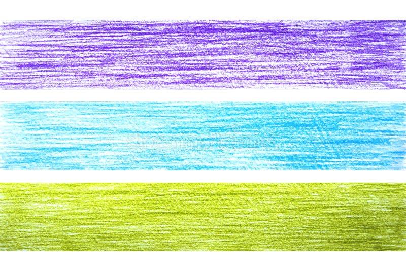 Lampasy na papierze cieniącym ołówkiem ilustracji