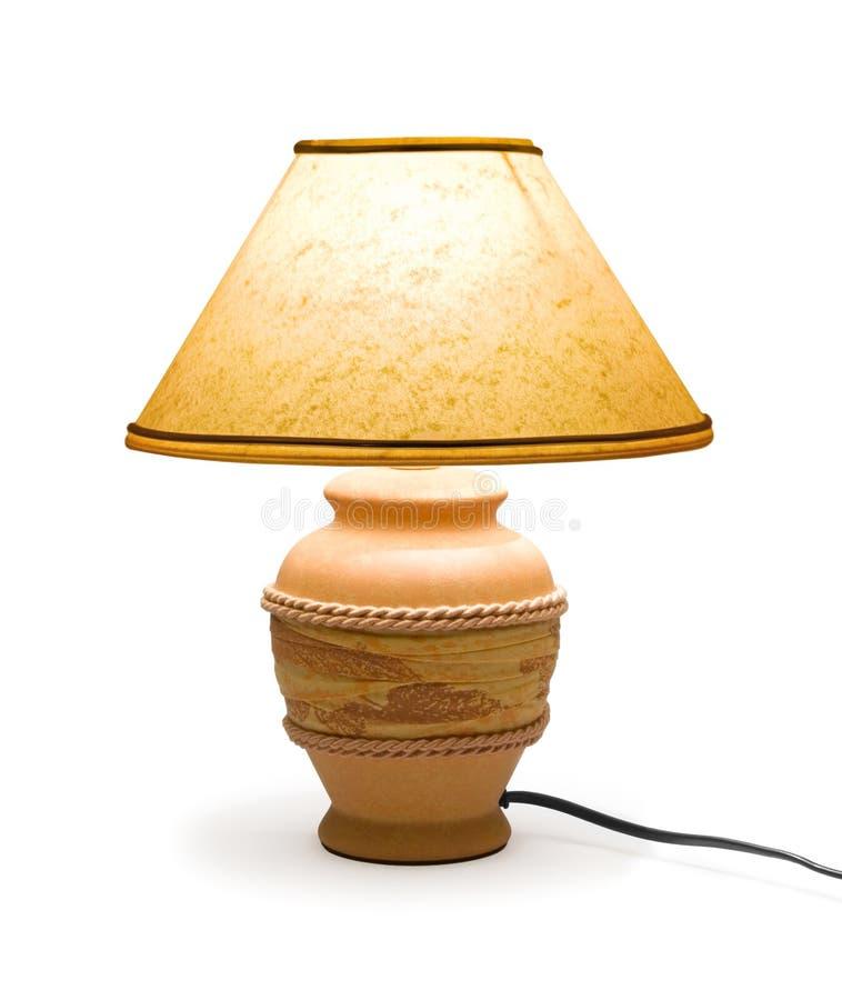 Lampe à la maison d'éclairage image stock