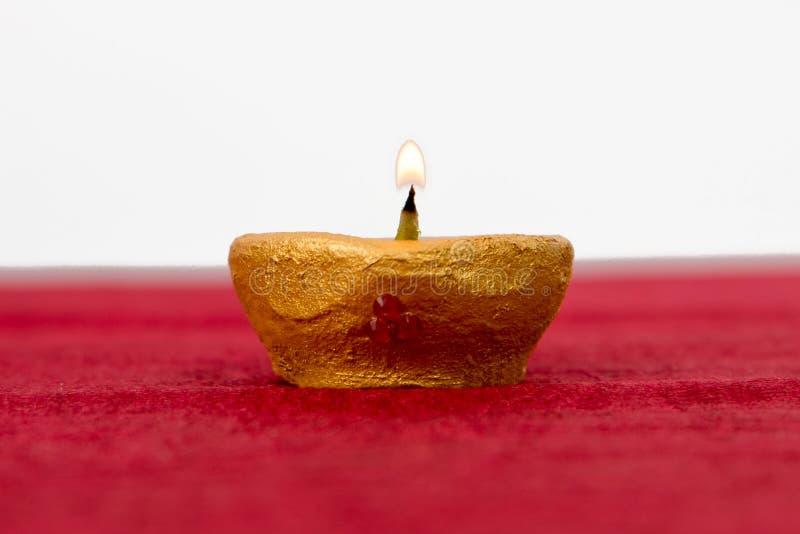 Lampe à pétrole de Diwali images libres de droits