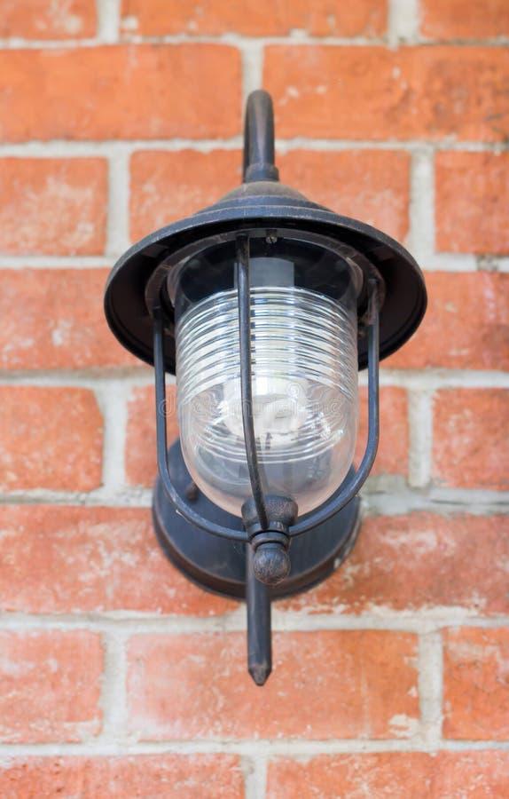 Lampe électrique. image stock