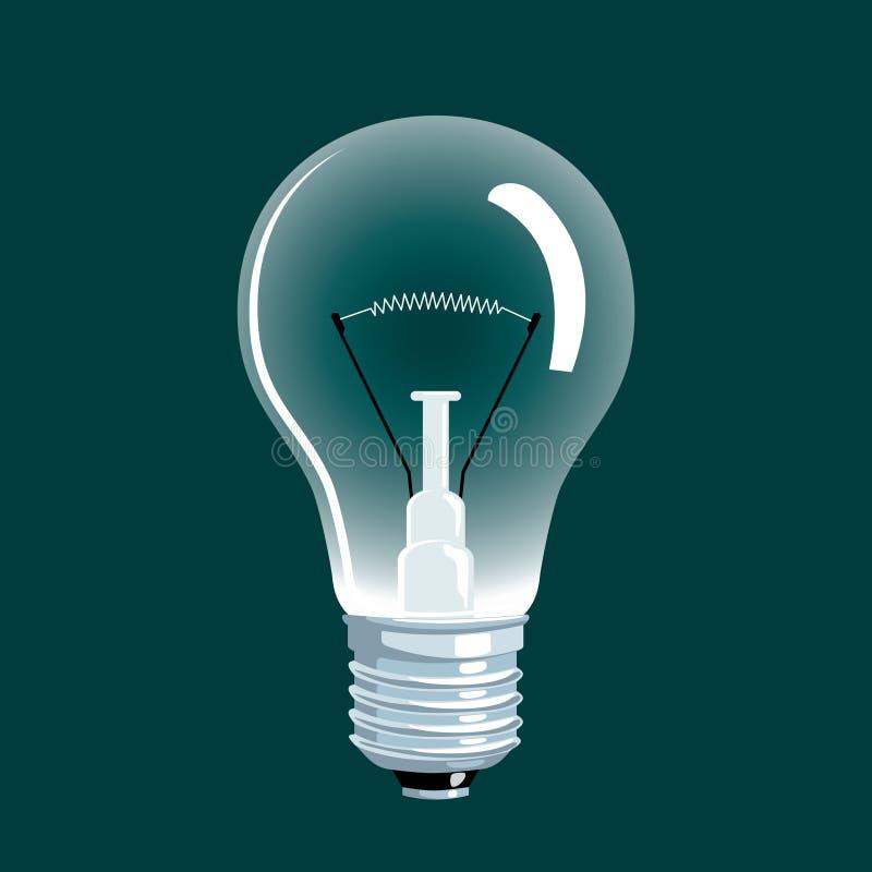 Lampe stock abbildung